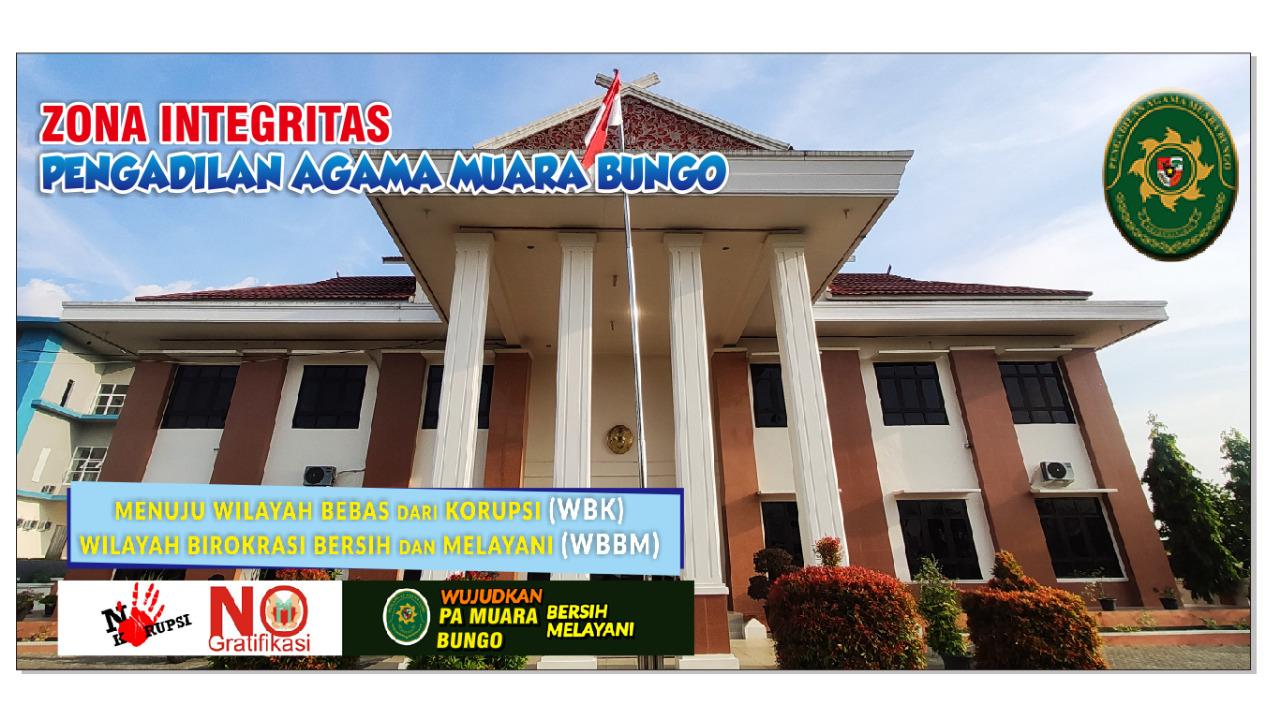 Zona Integritas Pengadilan Agama Muara Bungo